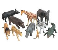 Afrikanische-Tiere Set, 10-tlg