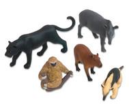 Südamerikanisches-Tiere Set, 5-tlg