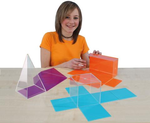 Geometrische Koerper aus Plexiglas-4