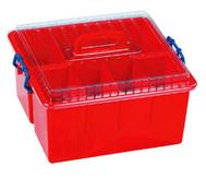 Sortierbox  mit Deckel und Griff