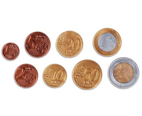 Euro Muenzen sortiert im Beutel-1