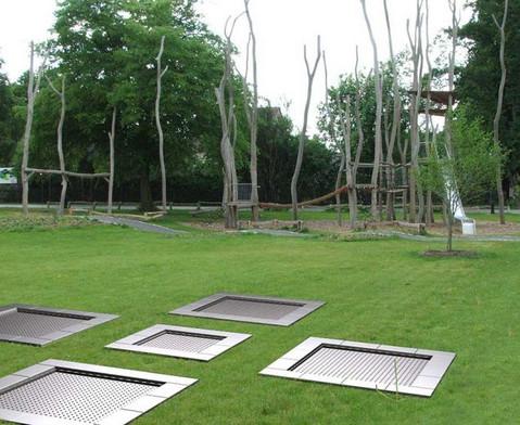 Bodentrampolin Kids Tramp Playground-3