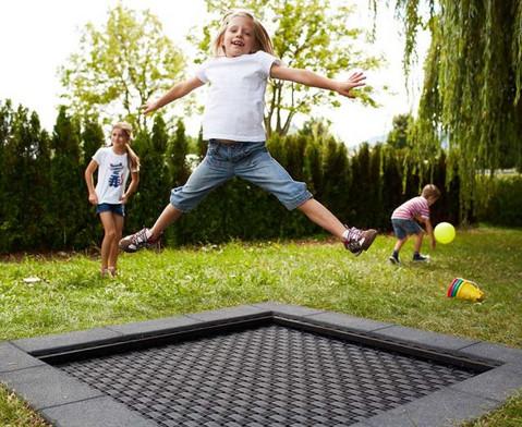 Bodentrampolin Kids Tramp Playground-4