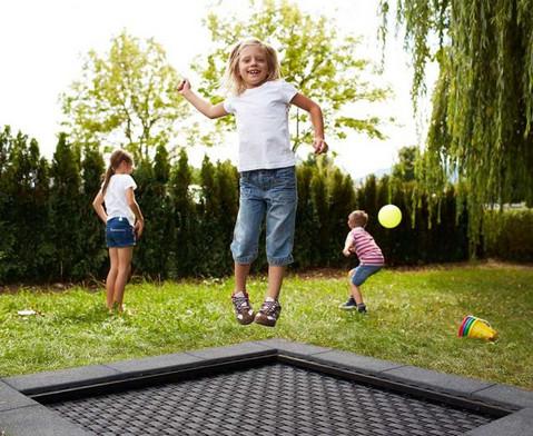 Bodentrampolin Kids Tramp Playground-5
