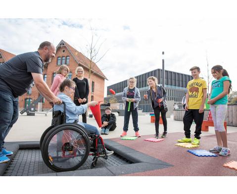 Bodentrampolin Kids Tramp Playground-6