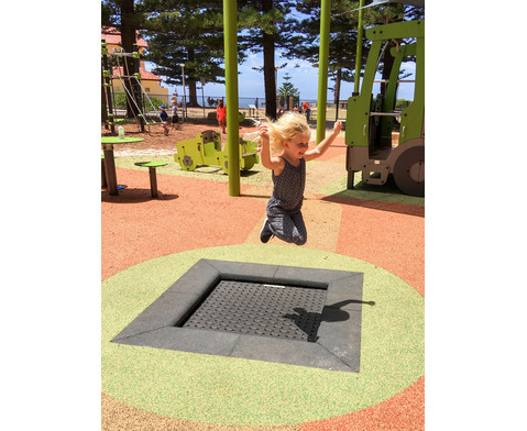 Bodentrampolin Kids Tramp Playground-7