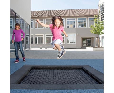 Bodentrampolin Kids Tramp Playground-11