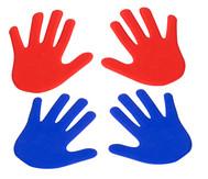 Hand-Bodenmarkierung