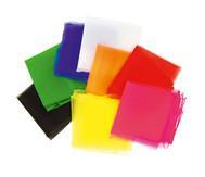 5 Jonglier-Tücher 65 x 65 cm in einer Farbe