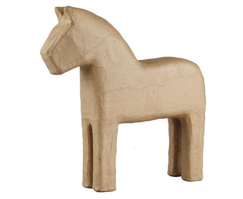 Pappmaschee-Pferde im Set-1