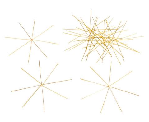 10 Draht-Sterne 11 cm oder 13 cm