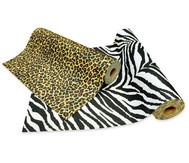 Filzrolle Zebra oder Gepard, 5 m
