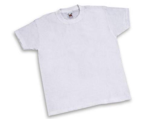 12 weisse Kinder-T-Shirts zum Bemalen
