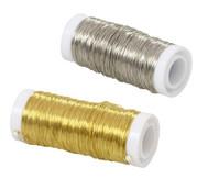 Kupferdraht, silber oder gold