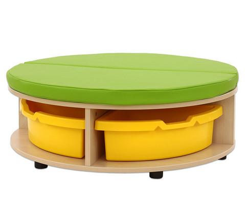 Maddox Sitzkombination 1 gruene Sitzmatten