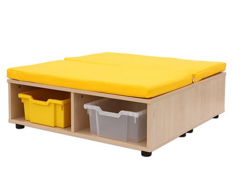 Maddox Sitzkombination 11 gelbe Sitzmatten