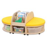 Maddox Sitzkombination 2, gelbe Sitzmatten