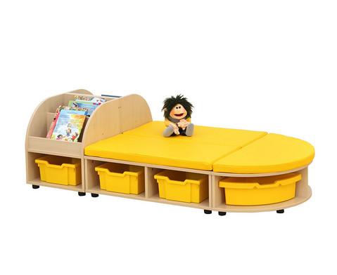 Maddox Sitzkombination 6 gelbe Sitzmatten