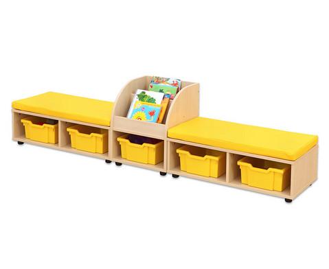 Maddox Sitzkombination 9 gelbe Sitzmatten