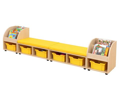 Maddox Sitzkombination 10 gelben Sitzmatten