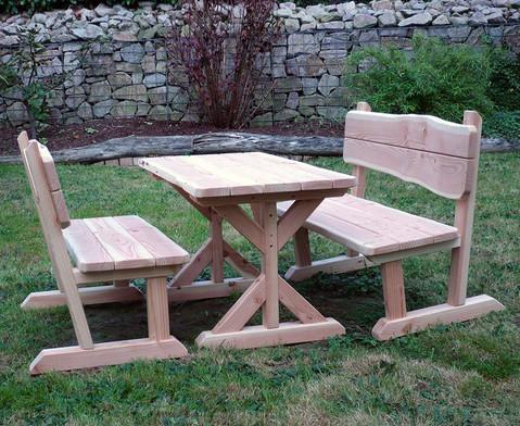 Outdoor-Sitzgarnitur in 3 Groessen