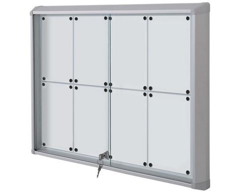Schaukasten Premium Indoor Whiteboard-Rueckwand