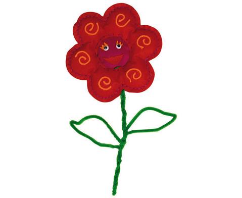Filz-Blumen in tollen Farben-1