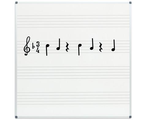 Betzold Musik Whiteboard Notentafel