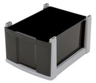 Flexeo® Box, grauer Rahmen, groß