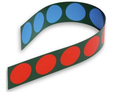 Betzold Doppelseitig magnetische Zehner-Wendestreifen