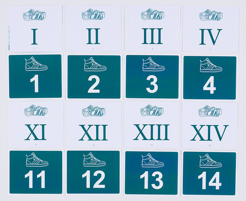 Roemische Zahlen kennenlernen