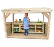 MultiPort-Rollenspielcenter mit großer Kinderküche