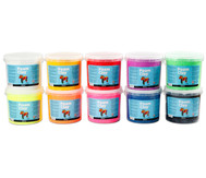 Foam Clay, 10x 560g in 10 Farben