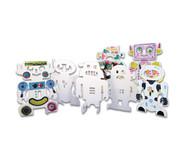 Steh-Auf-Roboter, 24 Stück aus Karton