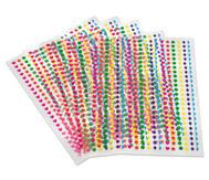 3D-Sticker, 2150 Stück