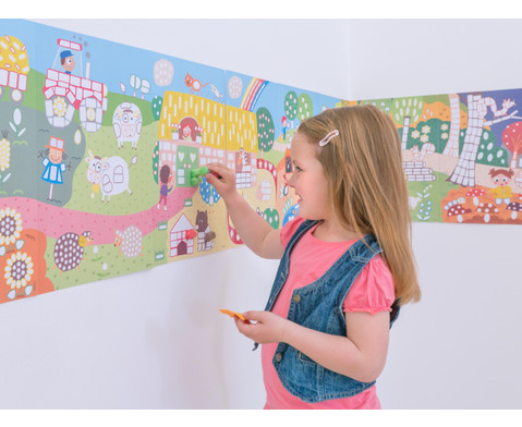 PlayMais Riesen Wandbild Landschaften-3