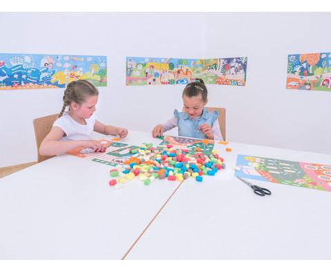 PlayMais Riesen Wandbild Landschaften-6