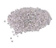 Metallicperlen-Set, Silber-Töne