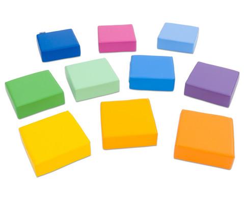 Sitzkissen Regenbogen 10-tlg-2