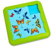Schmetterling Schiebepuzzle