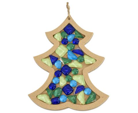 Mosaiksteine Softglas gruen-blau 200g-2