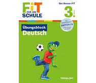 Fit für die Schule - Übungsblock Deutsch ab der 3. Klasse