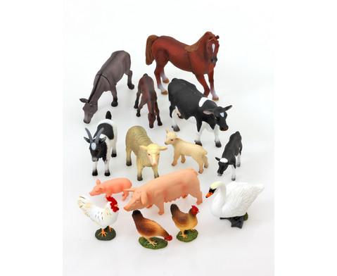 Bauernhoftiere 14-tlg Set