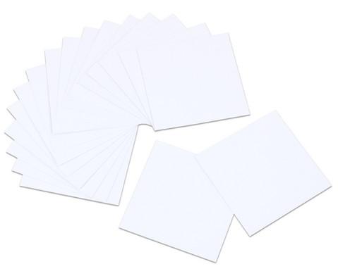 Betzold Blankokarten fuer Pocket Cube