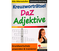 Kreuzworträtsel DaZ Adjektive