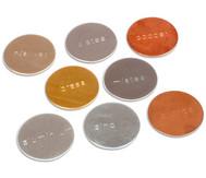 Metallplättchen für magnetische Versuche