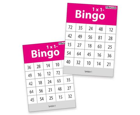 Betzold 1x1 Bingo-1