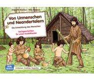 Bildkarten: Von Urmenschen und Neandertalern.
