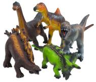 Dinosaurier Soft-Tier-Set, Naturkautschuk