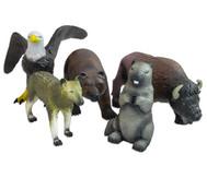 Nordamerikanisches Soft-Tier-Set, Naturkautschuk